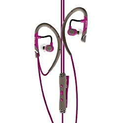 Klipsch Image A5i All Sport In-Ear Headphones, Magenta