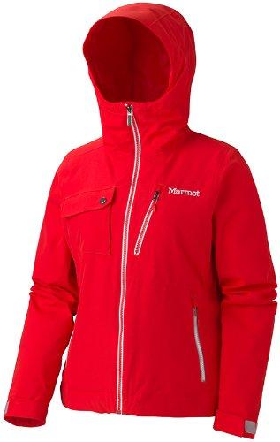 Marmot Damen Skijacke Free Skier, NewCherryTomato, Gr M, 75940-6784-4