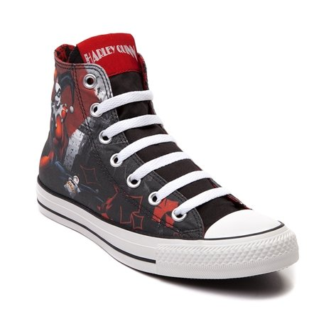 Converse All Star Harley Quinn fashion Sneaker athletic walking shoes unisex (8men-10women)