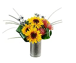 Sunsplash Sunflowers - California Backyard Arrangement
