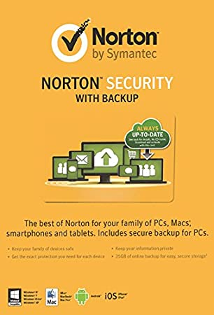 Norton Security 2.0 in 1 User 5 Devices Card (PC)