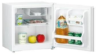 Haier +40㍑ 1ドア直冷式冷蔵庫+ホワイト JR-N40C(W)