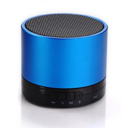 Blue Melody Best Potable Mini Top Rated Stereo Travel Wireless Bluetooth Speaker For Apple Iphone Ipad Ipod Samsung Motorola Philips Mp3 Player Mobile Phones Laptop Sd Card Bl-788F Black