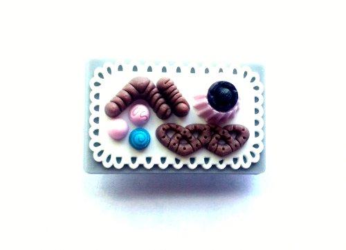 3D Cake #2 Shoe Charm 1 pc - Jibbitz Croc Style