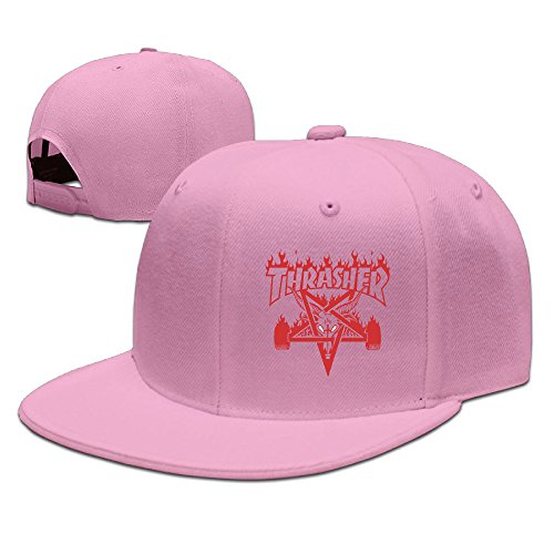 YOUDE Thrasher Magazine Hats Caps Pink (Thrasher Magazine Cap compare prices)