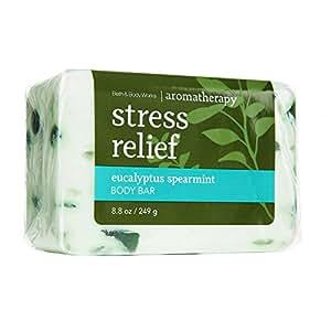 Bath & Body Works Bath & Body Works Aromatherapy Stress Relief Eucalyptus Spearmint Body Bar