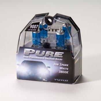 Putco 239007SW Premium Automotive Lighting Ion Spark White Halogen Headlight Bulb