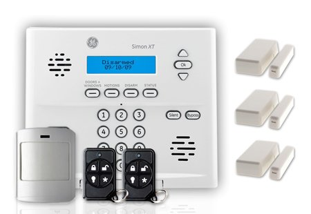 LiveWatch Security SLVRPCKKF1 LiveWatch GE Security DIY Wireless Home Security System Package, ,