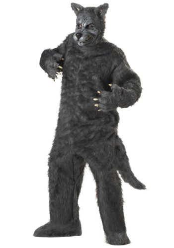 California Costumes Big Bad Wolf Costume (One Size\Gray)