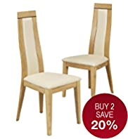 2 Clovelly Dining Chairs