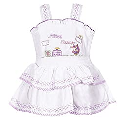 ahhaaaa's Cotton 2 Piece Frocks for Girls (18-24 Months)