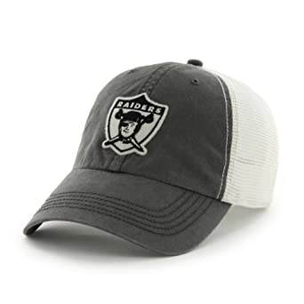 NFL Oakland Raiders Mens Cap rock Canyon Cap, One Size, Charcoal by