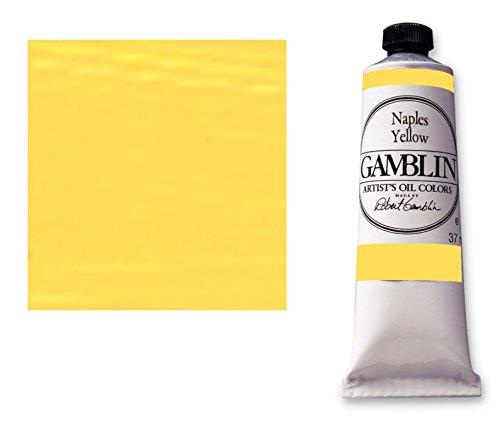 Gamblin artist-oelfarbe jaune 37 ml