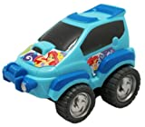 Blue Disney The Little Mermaid Ariel Push Toy Car