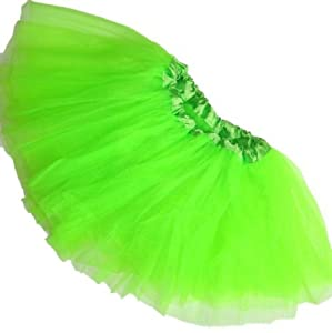 Girls Lime Green Ballet Tutu by Boutique Cutie
