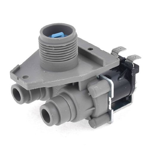 Water & Wood Replacement Water Enter 2 Inlets Solenoid Valve for Little Swan Washing Machine