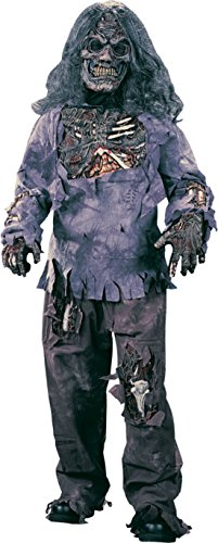 Boys Zombie Complete Kids Child Fancy Dress Party Halloween Costume