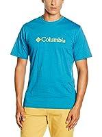 Columbia Camiseta Manga Corta CSC Basic Logo (Azul)