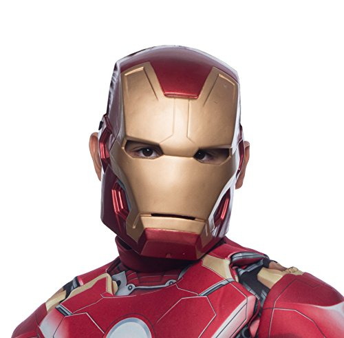Child's Mark 43 Iron Man Molded 1/2 Mask
