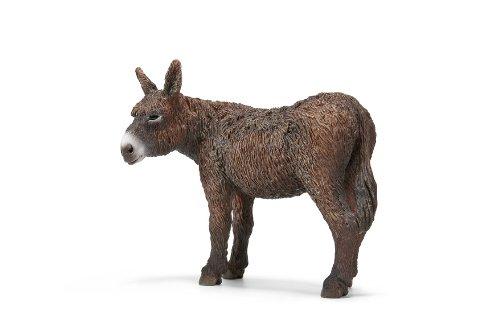 Schleich Poitou Donkey Toy Figure - 1