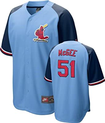 St. Louis Cardinals Willie McGee Cooperstown Quick Pick Jersey by Nike by Nike