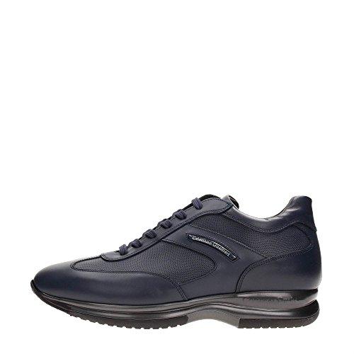 Cristiano Gualtieri 458/ST AI16 Sneakers Uomo Pelle Blu Blu 43
