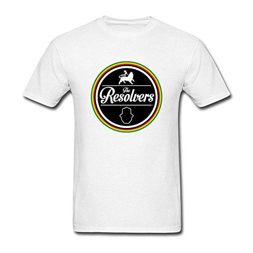 ryc5bd da uomo Aura Musica Arts Festival 2016la resolvers T Shirt White XX-Large
