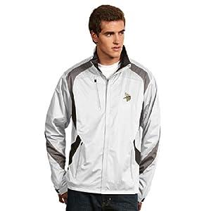 Minnesota Vikings Tempest Jacket (White) by Antigua
