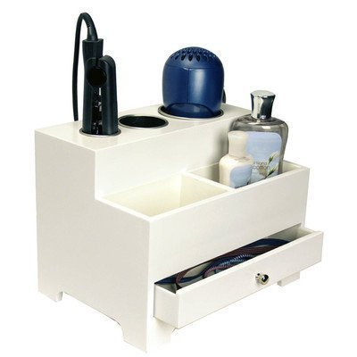 Hair Styling Storage Chest - White