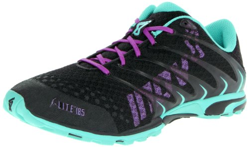 Inov-8 Women's F-Lite 185 Cross-Training Shoe,Black/Atlantis,10 M US