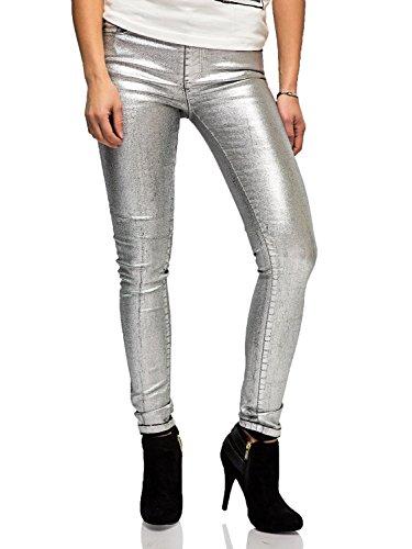 Silvian Heach -  Jeans  - Donna argento argento W40