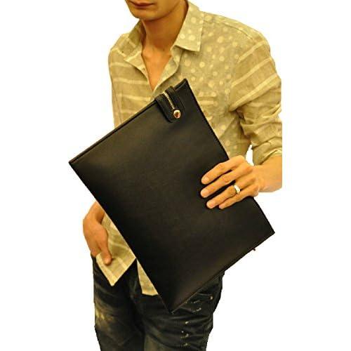 クロコダイル 鞄 クラッチ バッグ メンズ レディース (黒 (ブラック) 小物入れ, フリー)