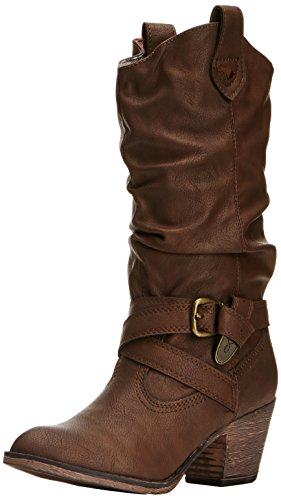 Rocket Dog- Stivali Donna, colore Marrone (Chocolate), taglia 37 EU (UK 4)
