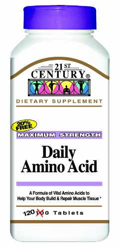 21st Century Daily Amino Acid Tablets, 120-Count