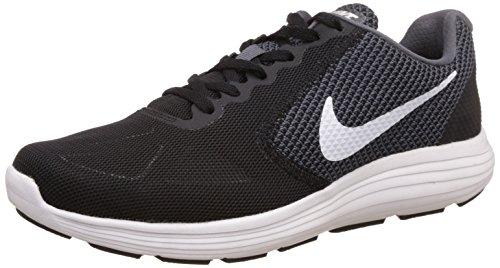 Nike Revolution 3 Zapatillas de running, Hombre, Gris / Blanco...