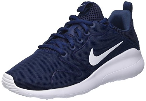 Nike Wmns Kaishi 2.0, Scarpe da Ginnastica Donna, Blu (Midnight Navy Blau/weiß), EU 37.5 (US 6.5)