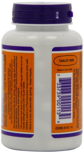 NOW Foods L-Lysine 1000mg