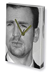 CHRIS EVANS - Canvas Clock (LARGE A3 - Signed by the Artist) #js002