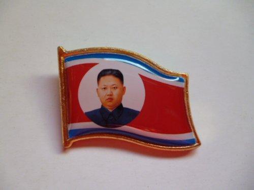 北朝鮮 金正恩バッジ (レプリカ)