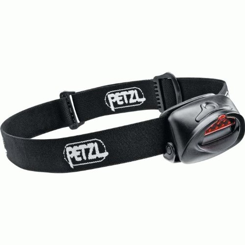 Petzl E49P TacTikka Plus 4-LED Headlamp, Black