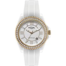 Rotary CEWRR-06-B Ceramique White Stone Set Watch