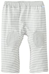i play. Baby Organic Yoga Pants, Gray Stripe, 12 Months