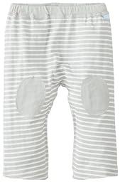 i play. Baby Organic Yoga Pants, Gray Stripe, 6 Months