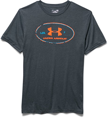 Under Armour T-shirt fitness da uomo in cotone Tri-blend
