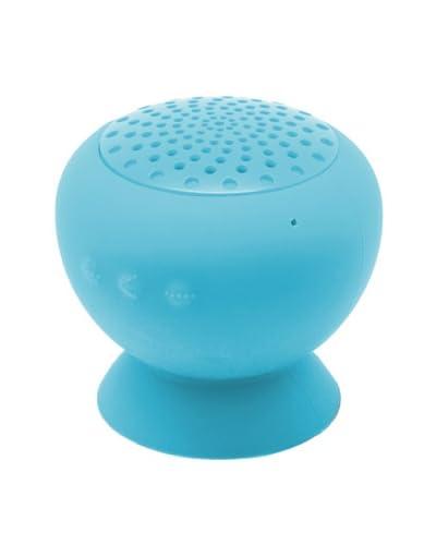 Unotec Altavoz Bluetooth Con Ventosa Soporte Azul