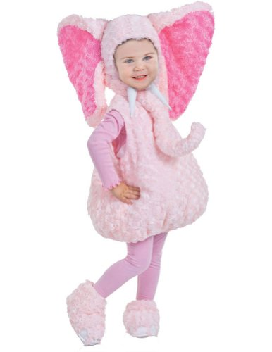 Pink Elephant Toddler Costume 2T-4T - Toddler Halloween Costume