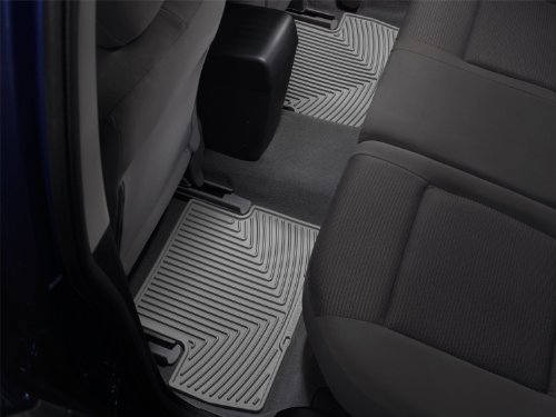 WeatherTech All-Weather Trim to Fit Rear Rubber Mats (Grey) (2010 Dodge Ram Weathertech compare prices)