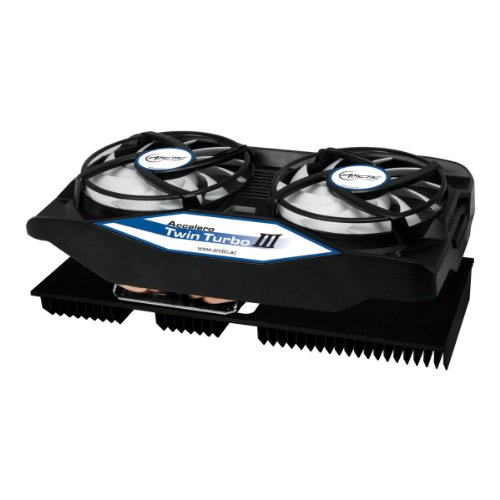 ARCTIC Accelero Twin Turbo III Graphics Card Cooler with Backside Cooler for Efficient RAM, VRM Cooling and VGA Cooler DCACO-V820001-GBA01 (Arctic Cooling Accelero Hybrid Ii compare prices)