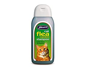 Johnsons Veterinary Products Ltd Jvp Cat Flea Cleansing Shampoo