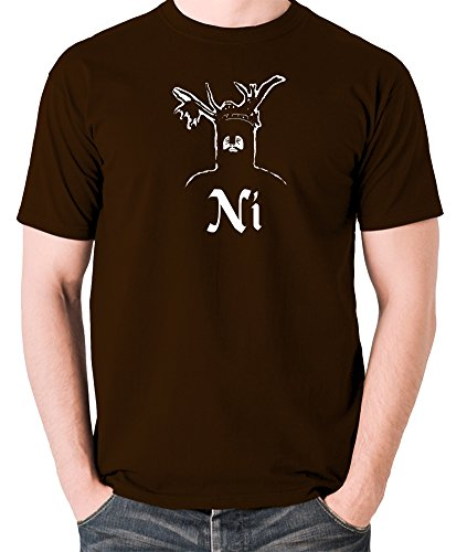 Monty Python and the Holy Grail - The Knights Who Say Ni! - Men's T Shirt